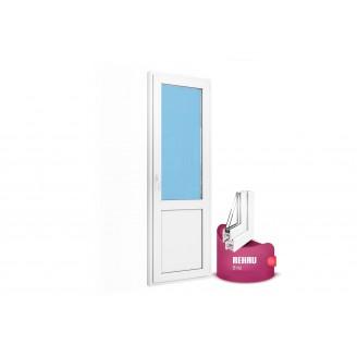 Дверь балконная (сэндвич) 700х2100 Rehau Blitz new